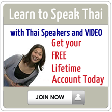 Learn to speak Thai language with video and audio.